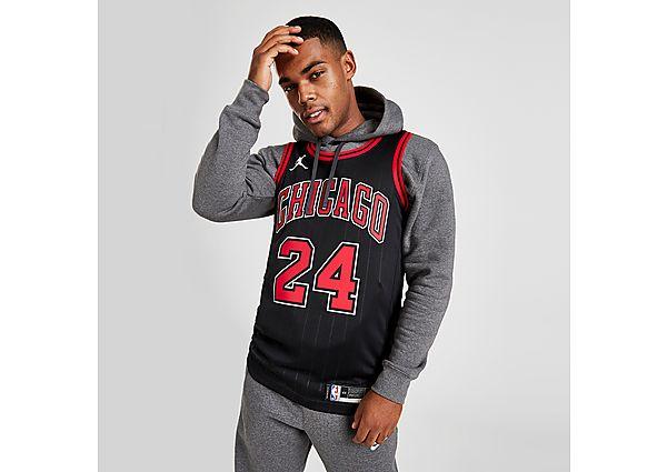 Jordan NBA Chicago Bulls Markkanen #24 Swingman Jersey - Black