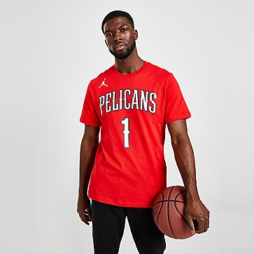 Nike NBA New Orleans Pelicans #1 Williamson T-Shirt