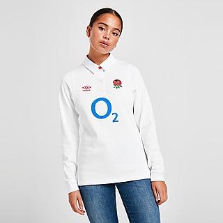 Umbro England RFU 2020 Home Long Sleeve Jersey Women's