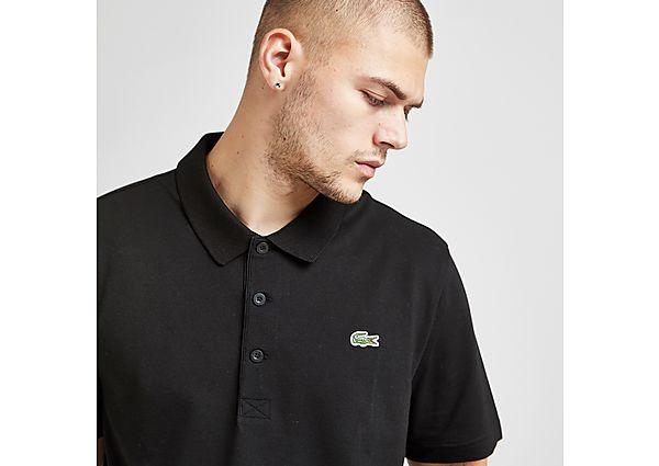 Lacoste Alligator Short Sleeve Polo Shirt - Black - Mens