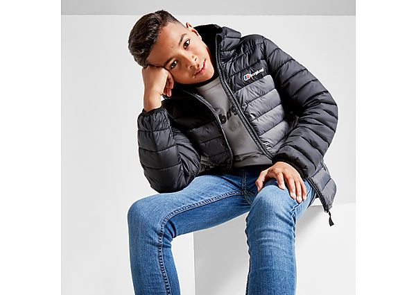 Berghaus Colour Block Padded Jacket Junior - Black - Kids