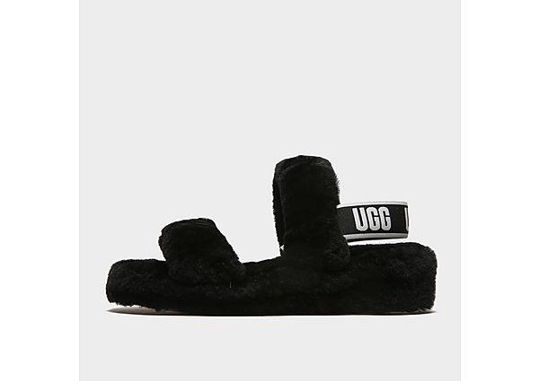 UGG Oh Yeah Slides - Black - Womens