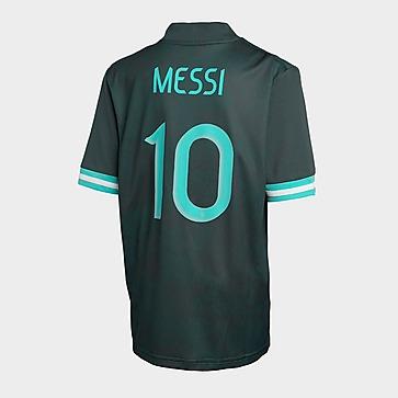 adidas Argentina FA 2020/21 Messi #10 Away Shirt Junior