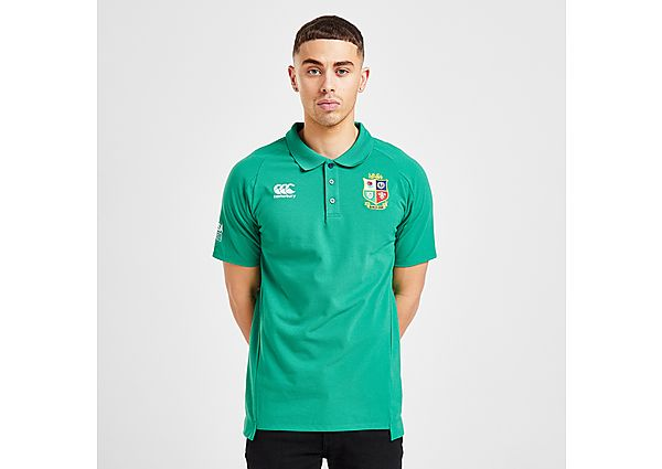 Canterbury British & Irish Lions 2021 Pique Polo Shirt - Green - Mens