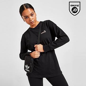 adidas Originals Linear Glossy Long Sleeve T-Shirt