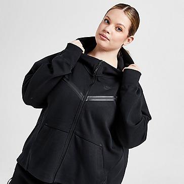 Nike Tech Fleece Full Zip Plus Size Hoodie