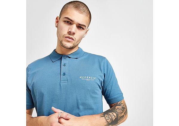 McKenzie Essential Polo Shirt - Blue - Mens