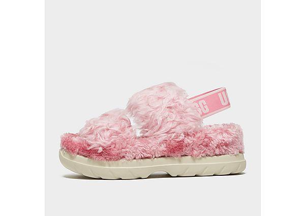UGG Fluff Sugar Slides Women's - Pink
