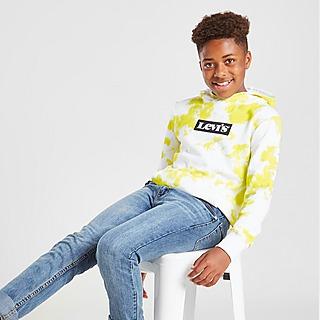 Levis Printed Pullover Hoodie Junior