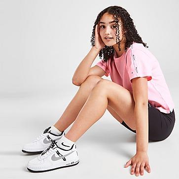 Champion Girls' Tape Cropped T-Shirt Junior