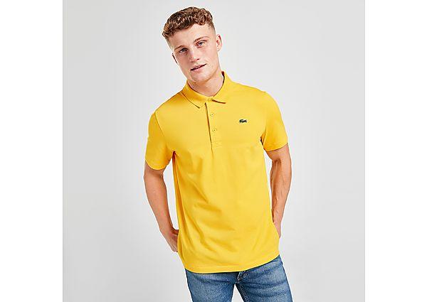 Lacoste Alligator Short Sleeve Polo Shirt - Yellow - Mens