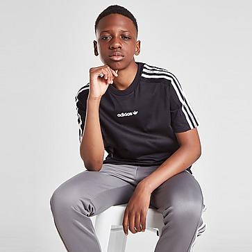 adidas Originals Tape Poly T-Shirt Junior