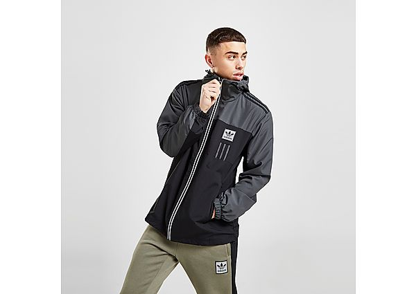 adidas Originals ID96 Windbreaker Jacket - Black - Mens