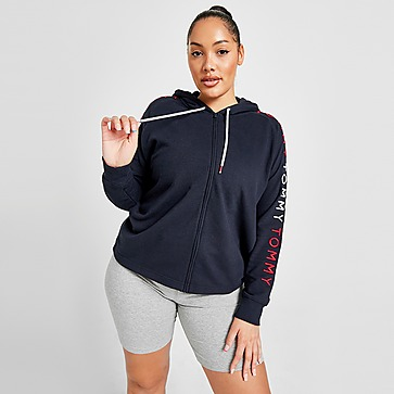 Tommy Hilfiger Embroidered Logo Plus Size Hoodie