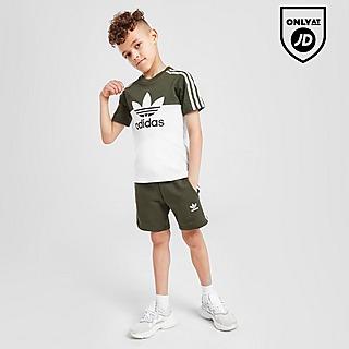 adidas Originals Sliced T-Shirt/Shorts Set Children