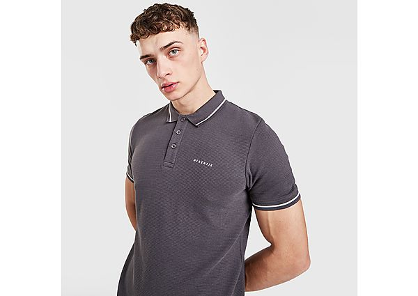 McKenzie Henry Polo Shirt - Grey - Mens