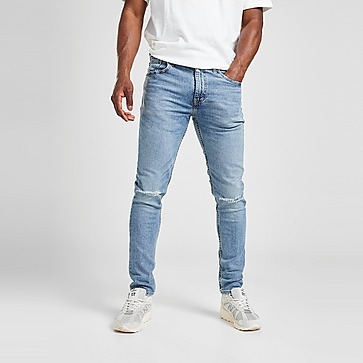 Levis 512 Slim Ripped Jeans