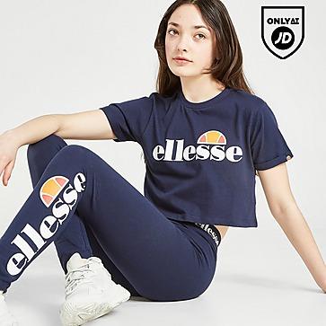 Ellesse Girls' Nicky Crop T-Shirt Junior