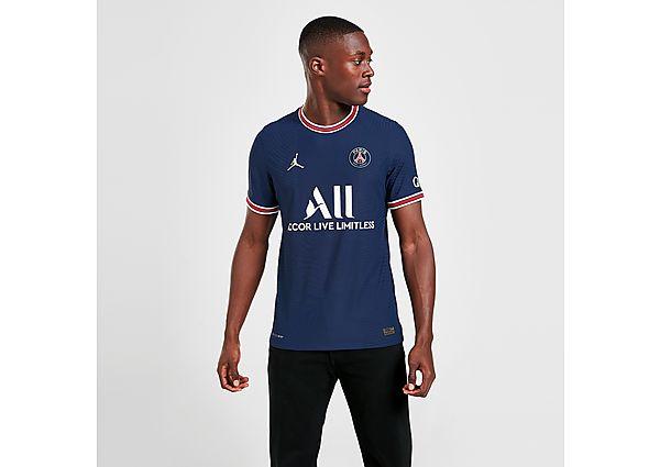 Jordan Paris Saint Germain 2021/22 Match Home Shirt - Midnight Navy - Mens