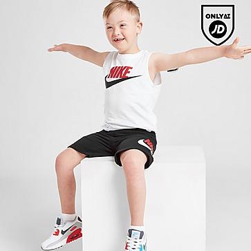 Nike Logo Tank Top/Shorts Set Children