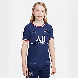 Jordan Paris Saint Germain 21/22 Match Home Shirt Junior