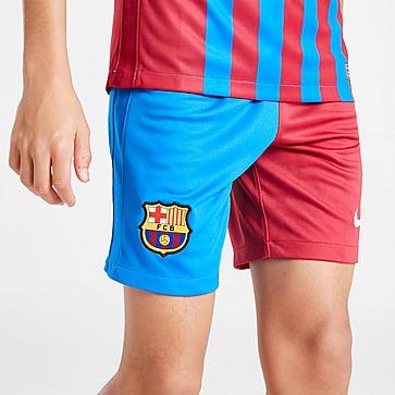 Nike FC Barcelona 2021/22 Home Shorts Junior