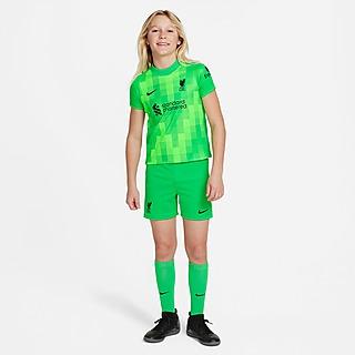 Nike Liverpool FC 2021/22 Home Goalkeeper Kit Children