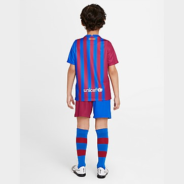 Nike FC Barcelona 2021/22 Home Kit Children