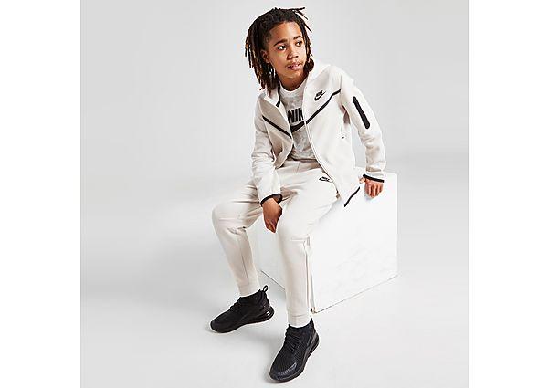 Nike Tech Fleece Full Zip Hoodie Junior - Yellow - Kids