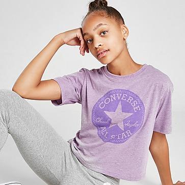 Converse Girls' Overdyed Box T-Shirt Junior