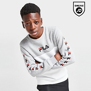 Fila Jake Repeat Colour Block Sweatshirt Junior