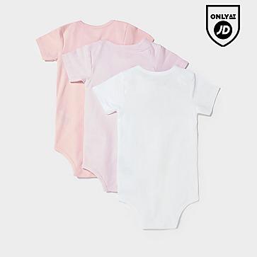 Ellesse Girls' Amealio 3 Pack Babygrows Infant