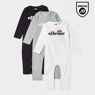 Ellesse Sulino 3-Pack Babygrows Infant