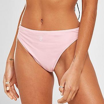 JUICY COUTURE Logo High Waist Bikini Bottoms