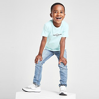 Fred Perry Global Branded T-Shirt Children