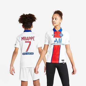 Nike Paris Saint Germain Mbappe 7 Away Shirt Junior