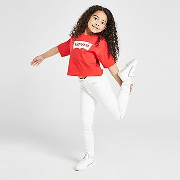 Levis Girls' Batwing Crop T-Shirt Children