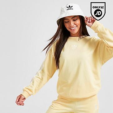 adidas Originals 3-Stripes Essential Crew Neck Sweatshirt
