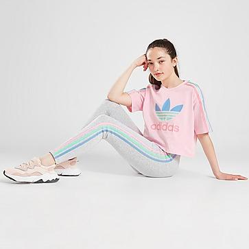 adidas Originals Girls' Tricolour 3-Stripes Leggings Junior