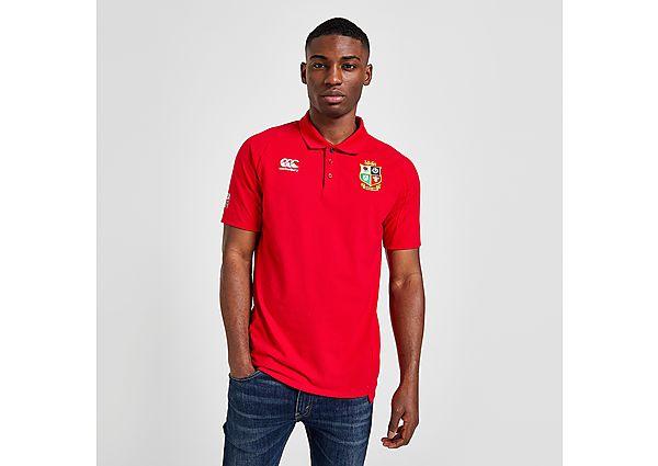 Canterbury British & Irish Lions 2021 Pique Polo Shirt - Red - Mens