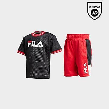 Fila Booker Mesh T-Shirt/Shorts Set Infant