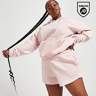 McKenzie Plus Size Marl Runner Shorts