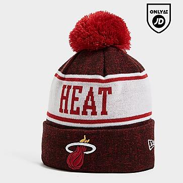 New Era NBA Miami Heat Pom Beanie Hat