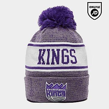 New Era NBA Sacramento Kings Pom Beanie Hat