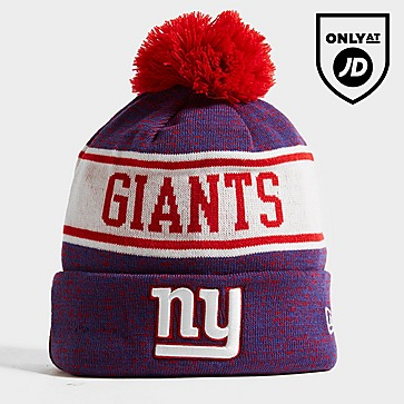 New Era NFL New York Giants Pom Beanie Hat