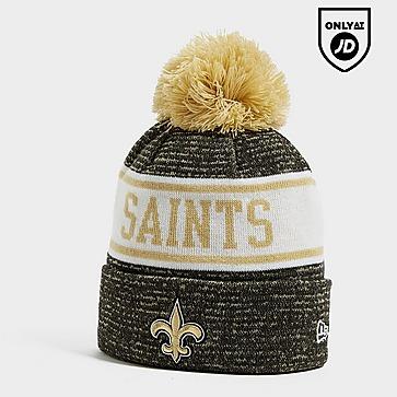 New Era NFL New Orleans Saints Pom Beanie Hat