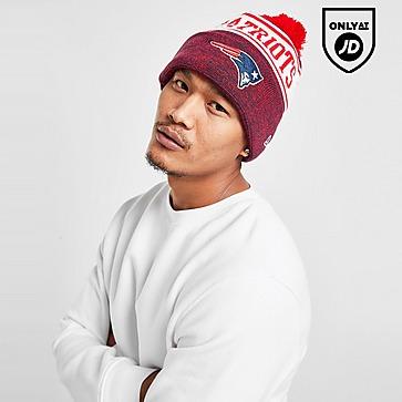 New Era NFL New England Patriots Pom Beanie Hat