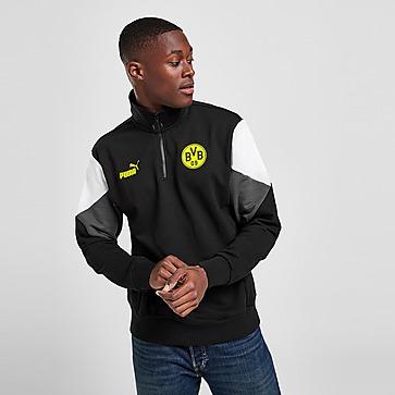 Puma Borussia Dortmund Culture Half Zip Sweatshirt