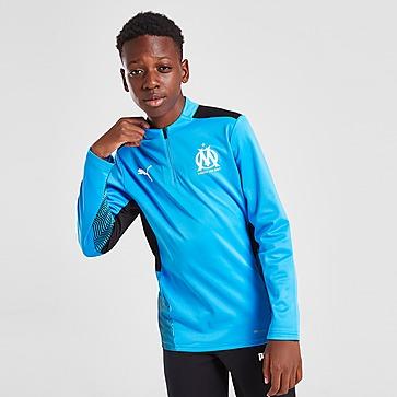 Puma Olympique Marseille FC 1/4 Zip Track Top Junior