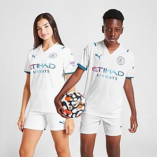 Puma Manchester City FC 2021/22 Away Shirt Junior